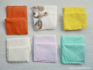 Cuscinetti tattili Montessori