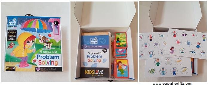 Il gioco del problem solving KidsLove - Imparare a risolvere i problemi