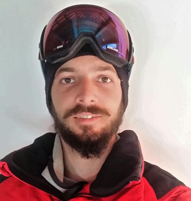 Luca Matteotti Snowboard Gran Paradiso