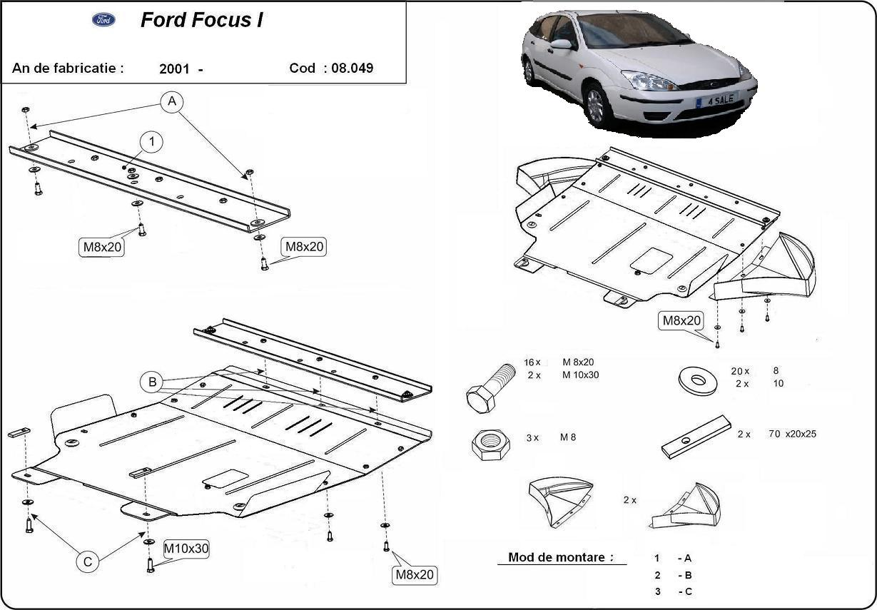 Scut Motor Ford Focus I Toate An