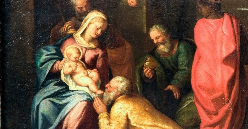 Padli so predenj ter ga molili!