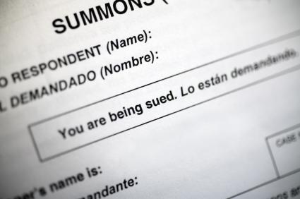 civil lawsuit summons