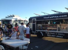 Saturday night with food trucks in the SCV.