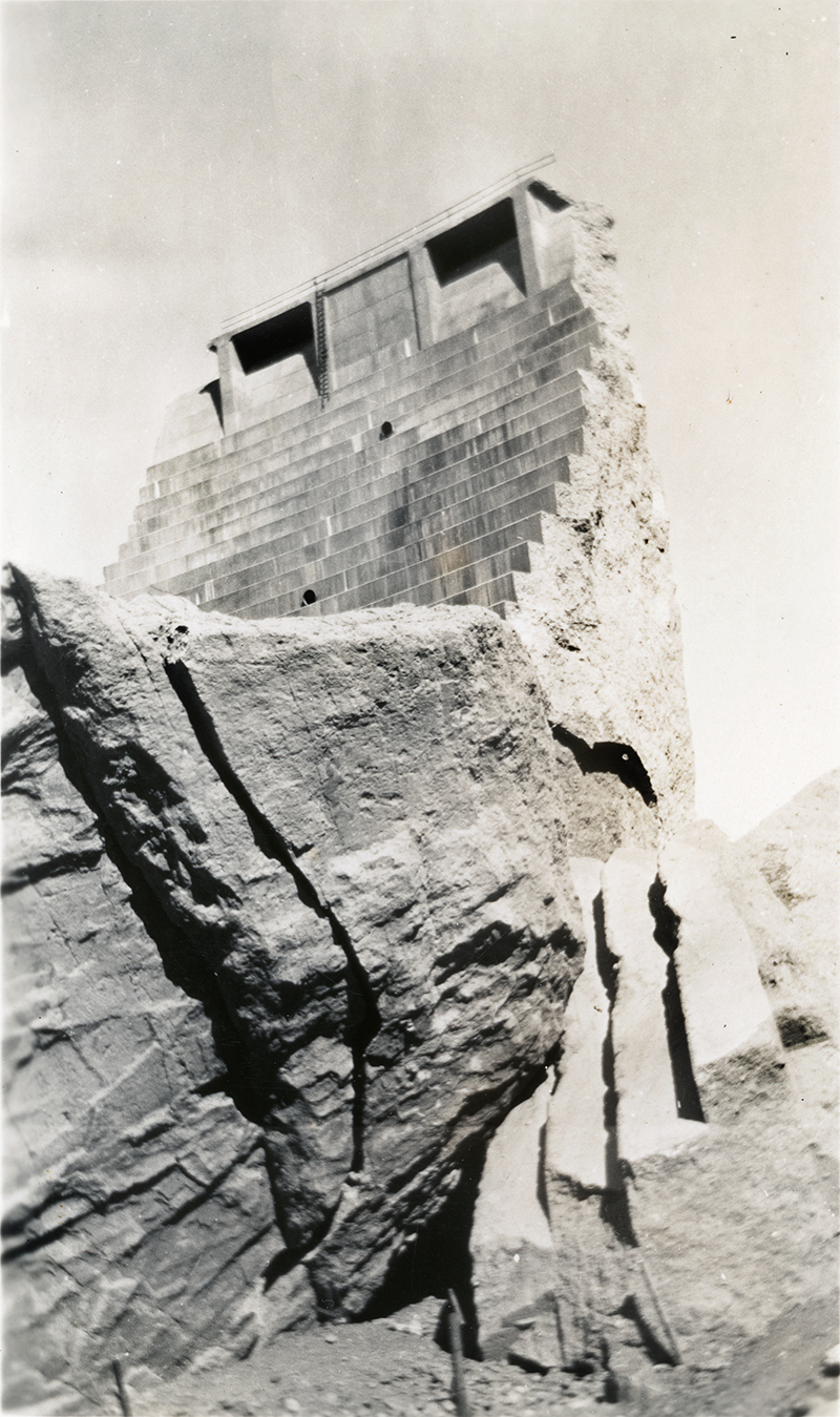 Tombstone with Ladder ST. FRANCIS DAM DISASTER