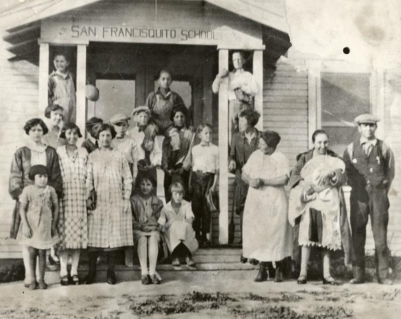 San Francisquito School. SAN FRANCISQUITO CANYON. Photos of the St. Francis Dam disaster.