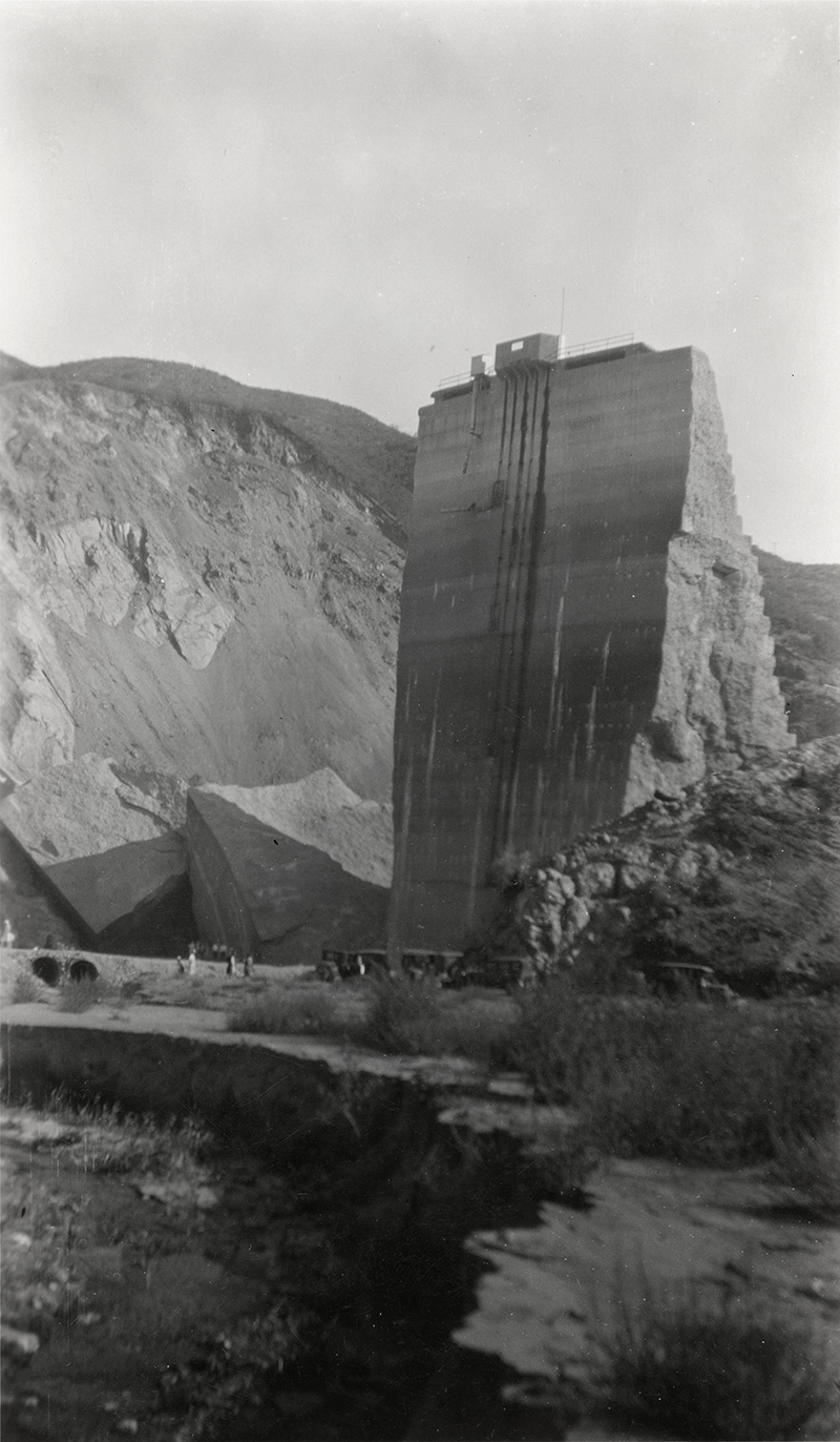 """Visiting the """"Tombstone"""" ST. FRANCIS DAM DISASTER"""