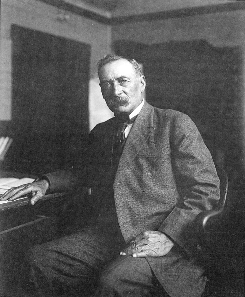 William Mulholland. St. Francis Dam disaster.