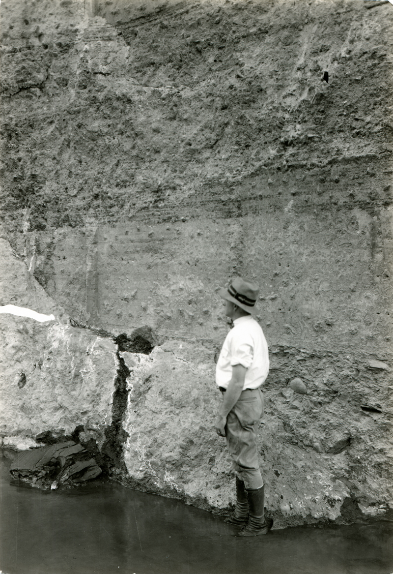 Base of Dam After Break. EX-SAN FRANCISCO PUBLIC UTILITIES COMMISSION ARCHIVES. Photos of the St. Francis Dam disaster.