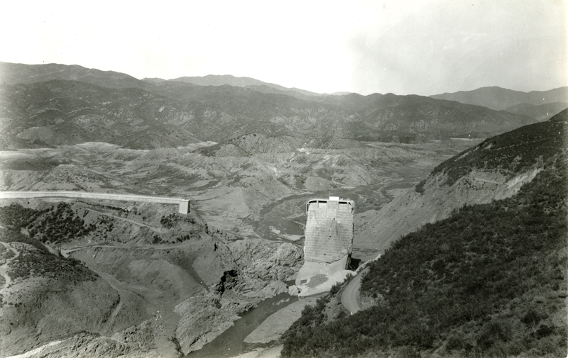 St. Francis Dam: Tombstone, Wing Dike, Reservoir  EX-SAN FRANCISCO PUBLIC UTILITIES COMMISSION ARCHIVES