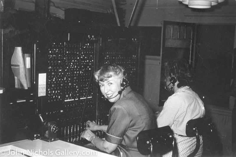 Switchboard Operators Reicel Jones and Althea Marks. HEROES OF THE ST. FRANCIS DAM DISASTER. Photos of the St. Francis Dam disaster.