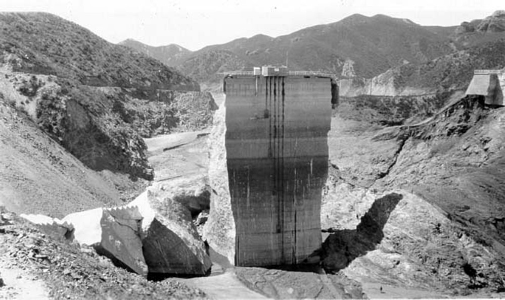Inside Looking Out. Photos of the St. Francis Dam disaster.