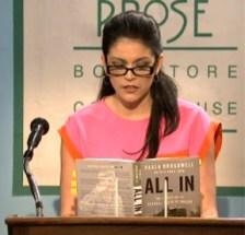 "In an ""SNL"" skit, Strong plays Paula Broadwell, the biographer of Gen. David Patraeus."