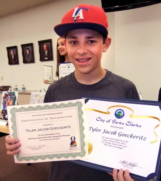 Tyler Jacob Goeckeritz of SCVi Charter School