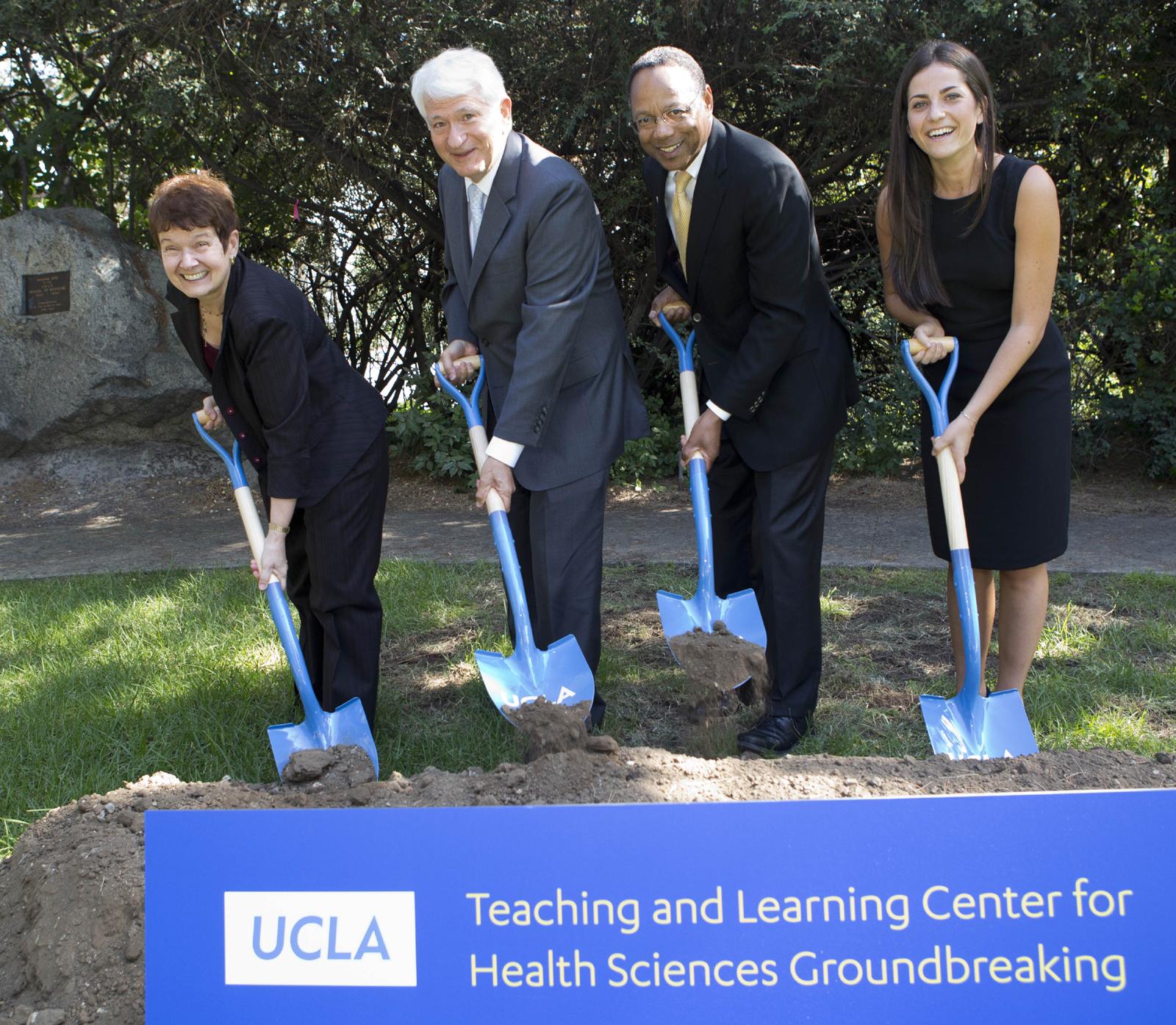 SCVNews com | UCLA Breaks Ground on 6-Story Medical School Building