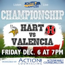 Hear the game live on AM-1220 KHTS and keep an eye on SCVTV for highlights afterward.