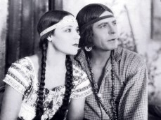 "Dolores Del Rio as the title character and Warner Baxter as Alessandro in Edwin Carewe's 1928 ""Ramona."" Screenshot courtesy of Hugh Munro Neely."