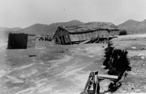 Structures in Acton wash downriver in the Great Flood of March 2, 1938. Click image to see more.