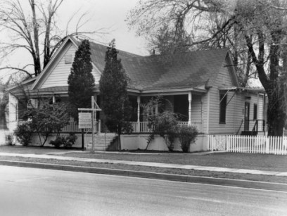 The Pardee House, now at Heritage Junction, used to stand where Veterans Historical Plaza is located today. It used to be the telephone company office, among other things. Click to see what else.