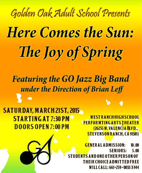 GO Jazz Spring Concert Poster(4)