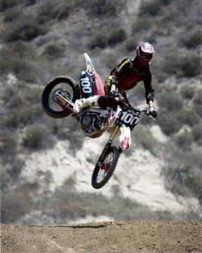 Cory riding at Piru  | Photo courtesy of Tarrant family