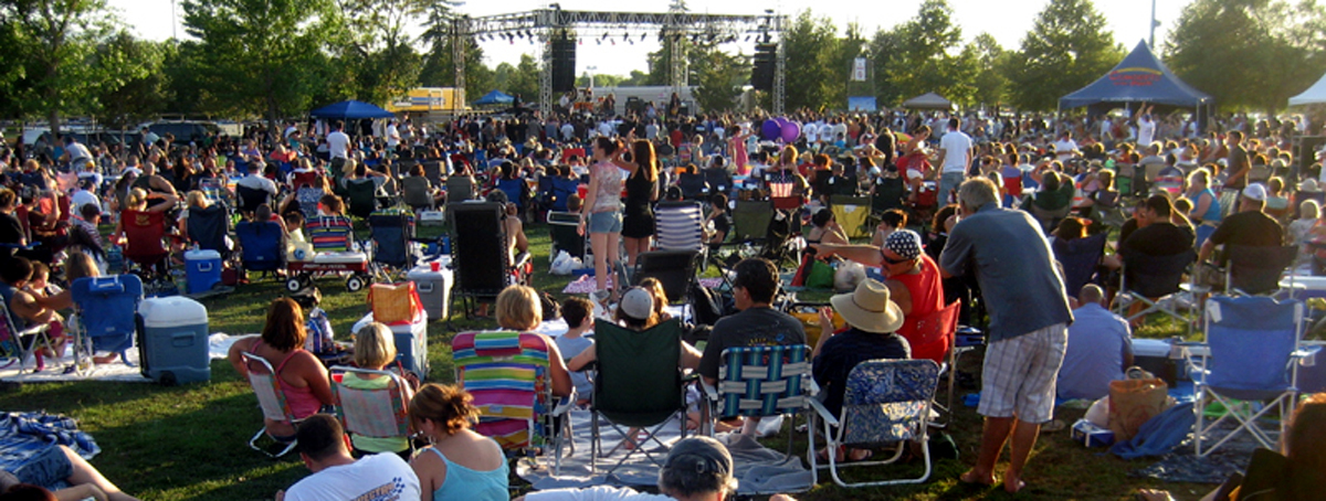July 21: Concerts In The Park To Feature