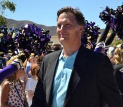 School board member Matthew Ridenaur