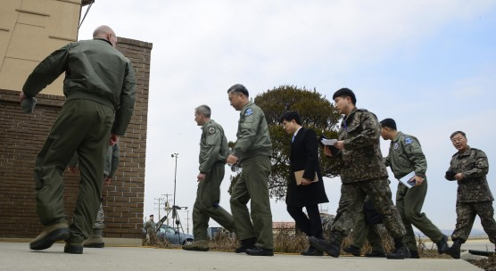 ROK/US aircraft conduct extended deterrence mission