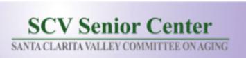 scv senior center logo