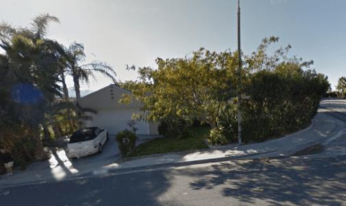 Plaintiff's current 27411Garza Drive residence