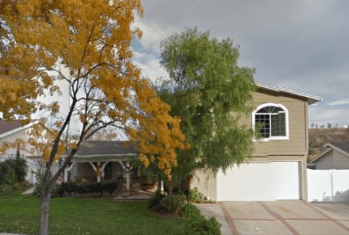 Plaintiff's former/sold 27210 Garza Drive residence