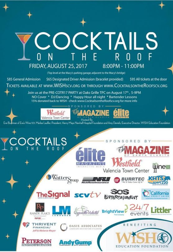 Cocktails on the Roof flyer complete