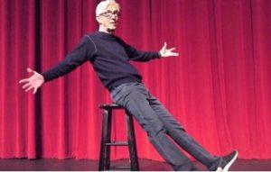 Fritz Coleman onstage