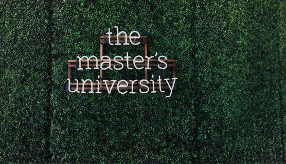 The Master's University grass logo