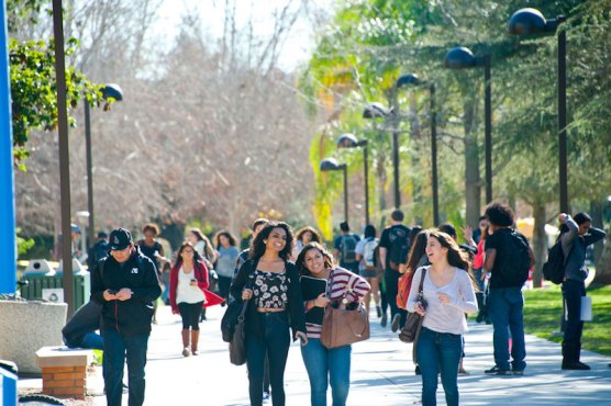 online learning - CSUN students