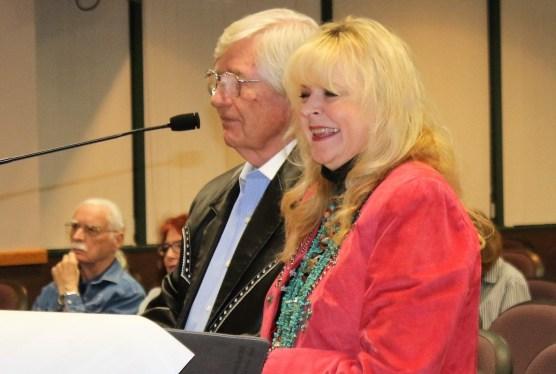 Bobbi Jean and Jim Bell, Santa Clarita Arts Commission recognition, October 12, 2017. | Photo: Stephen K. Peeples