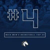 Master's men's basketball team ranks No. 4 in 2018 NAIA Coaches' Poll.