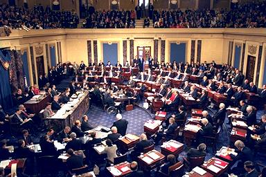 U.S. Senate in session