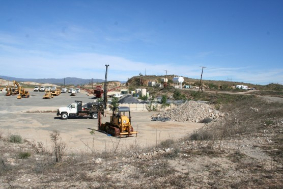 Toxic soil and groundwater cleanup in progress at the Whittaker-Bermite site. Photo: City of Santa Clarita.