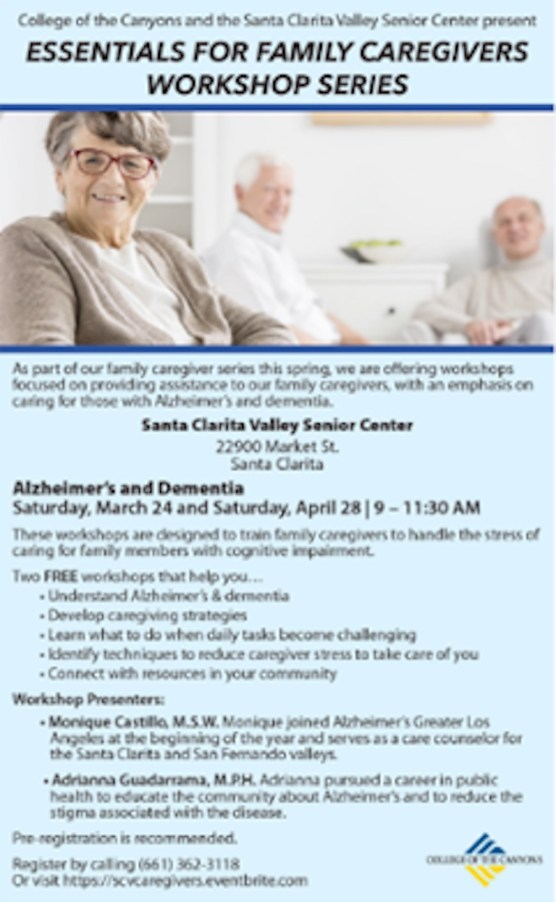 Family Caregivers Workshop