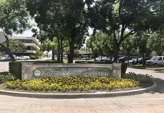 City of Downey Plaque