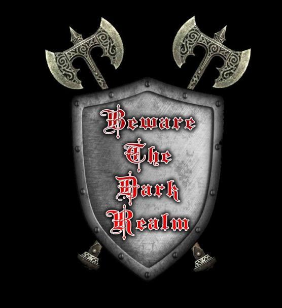 beware the dark realm shield logo