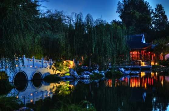 "The Garden of Flowing Fragrance at The Huntington is the inspiration for playwright Stan Lai's new site-specific work, ""Nightwalk in the Chinese Garden,"" which has its world premiere Sept. 21–Oct. 26, 2018. 