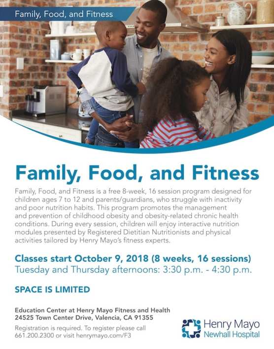 Family, Food and Fitness