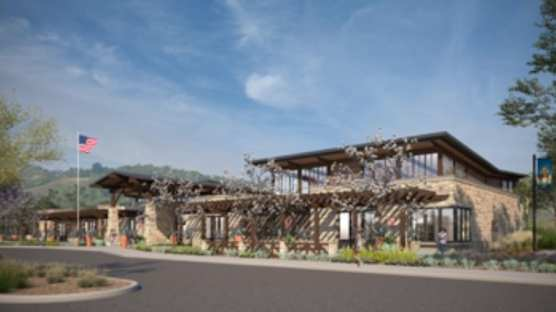 Canyon Country Community Center rendering