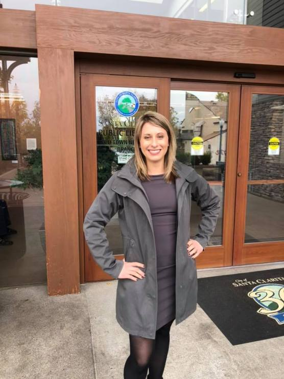 U.S. Rep. Katie Hill (D-Agua Dulce) is pictured in Santa Clarita. current affairs