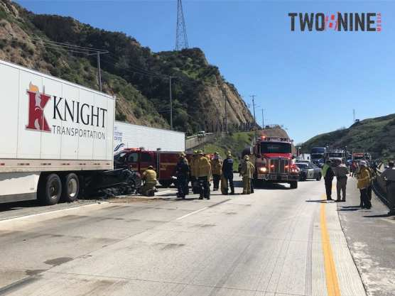 SCVNews com | Woman Killed in Collision on I-5 Truck Route | 02-19-2019