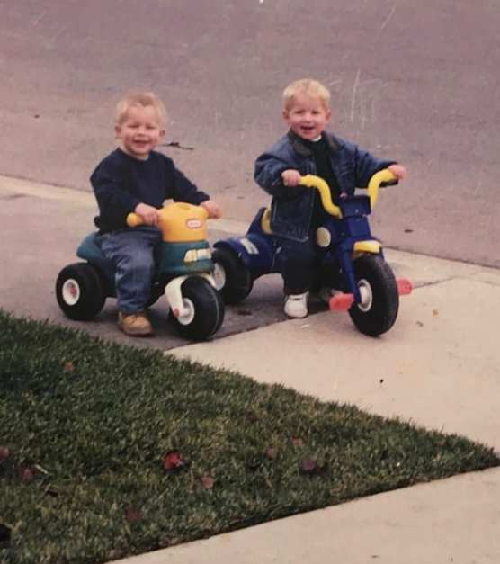 Maitland, left, and Shackelford were born 12 days apart in 1996.