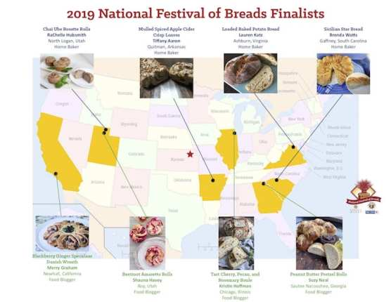 Map of Finalists