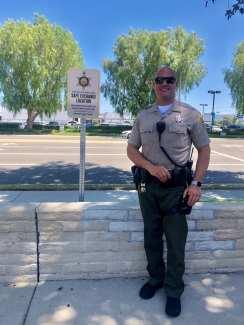 SCV Sheriff's Station Safe Exchange Zone