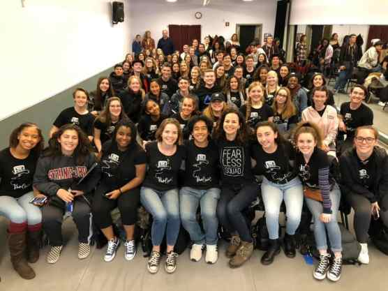 valencia high school choir to poerform with hamilton stars